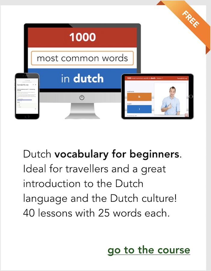 Learn Dutch Free Online Dutch Course