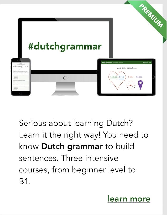 learn how to speak dutch free