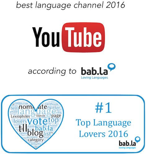 Best language channel youtube