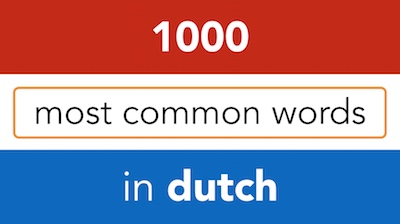 how to learn dutch for beginners