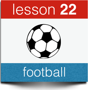 dutch football vacabulary soccer terminolgy
