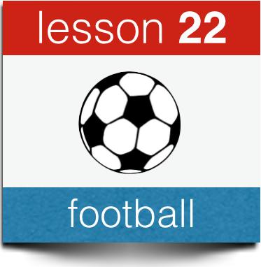 dutch football vacabulary soccer terminolgy
