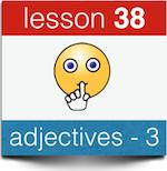 adjectives bijvoeglijk naamwoord