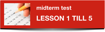Midterm Dutch test 1-5