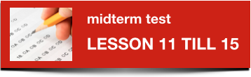 Midterm Dutch test 11-15