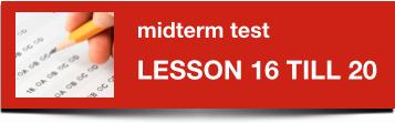 Midterm Dutch test 16-20