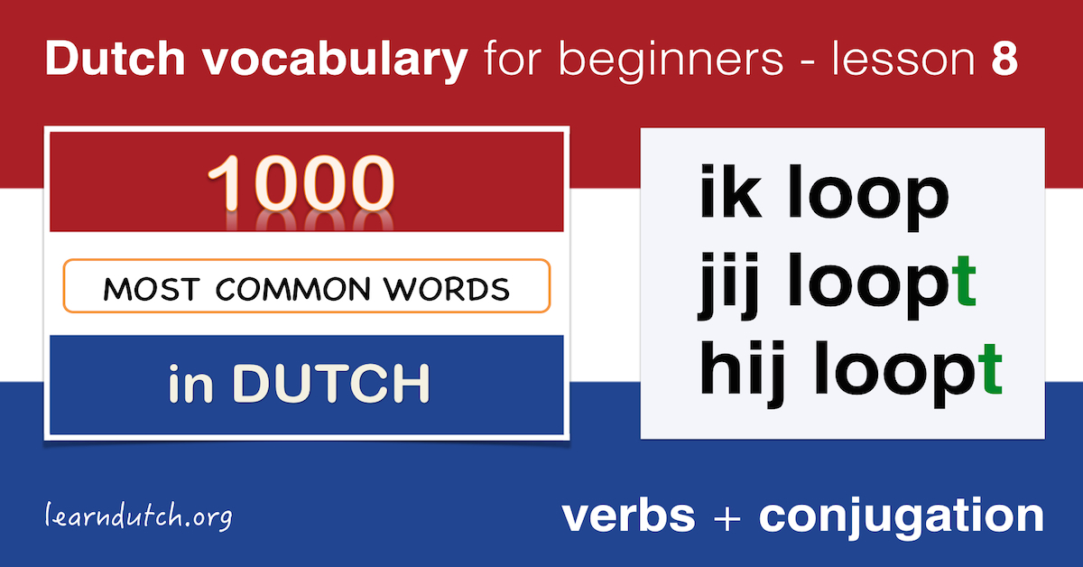 Present tense of the verb learn