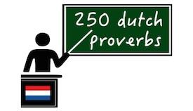 250 Dutch proverbs