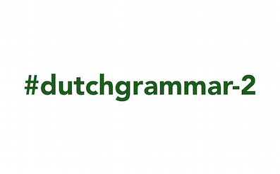 Dutch Grammar